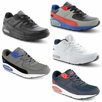 New Mens Air Casual Lace Up Sports Gym Running Trainers Leisure Shoes Sizes 7-11