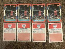 Michael Jordan Fleer Rookie Cards Prestine Reprints. 4 Reprint Cards In This Lot