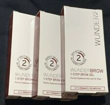Wunder Brow The Perfect Eyebrows 1 Step Auburn ( 3 Pack)