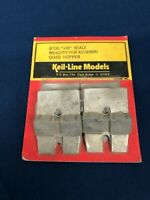 Keil Line Models HO Scale Weights For Athearn Quad Hoppers 8706