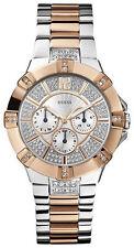 Runde GUESS Quarz - (Batterie) Armbanduhren aus Edelstahl