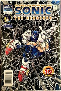 SONIC The HEDGEHOG Comic Book #95 May 2001 KNUCKLES Bagged & Boarded VF+