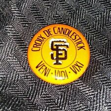 MLB Vintage San Francisco Giants: Croix De Candlestick Pin 1980's
