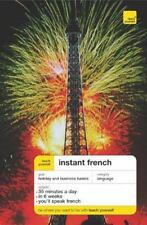 Teach Yourself Instant French, (Book Only) (TY: Language Guides)-ExLibrary