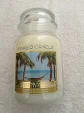 Yankee candle 'Christmas at the Beach' large jar