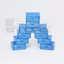 10 pz Relay 5Vdc 10A da circuito stampato, relè 5V 1 scambio - ART. EA07