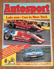 Autosport 5/7/84* CHEVRON B61 TEST - McLAREN MP4/2 PROFILE - LE MANS 24 HOURS
