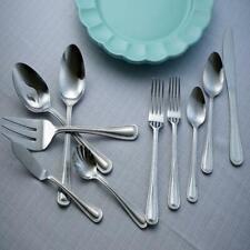 Tableware Flatware Set Service For 8 Silverware Vintage Stainless Steel New
