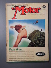 R&L WW2 Vintage Mag: The Motor 1941 Sept 17, Zenith Carb Tune/Racing/CV Joints