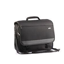 """Verage Elite Laptop Umhängetasche Schwarz M (für 16"""") business Aktentasche"""