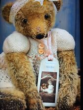 Hand Made Mohair Bear Made In England 🏴