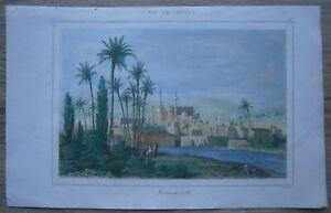 1853 print FAMAGUSTA, CYPRUS (#30)