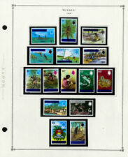 Tuvalu Mint NH Pristine 1976 to 2003 Vintage Stamp Collection