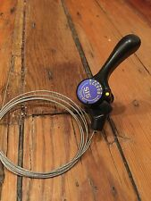 NOS 1993 Shimano Right Thumb Shifter-6 Speed Indexed-Urban Cruiser-W/Cable-MTB