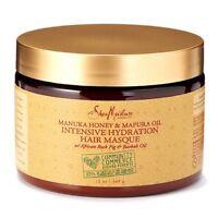 Shea Moisture Manuka Honey - Mafura Oil Intensive Hydration Masque 12 oz (2pk)