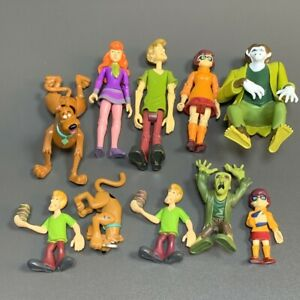 10X Scooby Doo Mystery Solving Crew Action Figure Set FRED SHAGGY DAPHNE VELMA