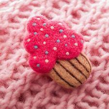Needle Felted Brooch Cake Wool Brooch Cake Scarf or Shawl Brooch Pin Jewelry