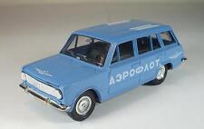UDSSR USSR 1/43 Lada VAZ 2102 Aeroflot blau #271