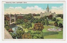 Hartford Connecticut Bushnell Park posted 1928
