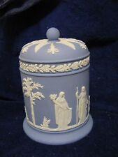 Vintage Wedgwood Jasperware Biscuit Jar