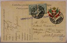 POSTA MILITARE 21^  DIVISIONE 23.6.1916 FRANCHIGIA AFFRANCATA #XP269B
