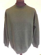 Uneek Classic Bottle Green Sweatshirt Size L Pack Of 2 Shirts