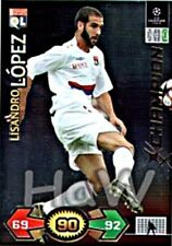 Lisandro López Champion PANINI Champions League 2009/2010 09 10 Update