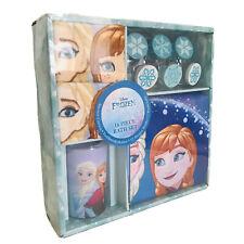 Disney Frozen Anna & Elsa 16Pc Bathroom Set Shower Curtain Hooks Towels