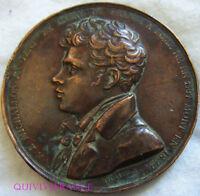 MED7948 - MEDAILLE MICHALLON ACADEMIE DE FRANCE A ROME 1823 par TIOLIER