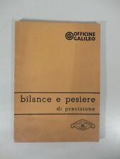 Officine Galileo. Bilance e pesiere di precisione. Galileo Sartorius, Firenze