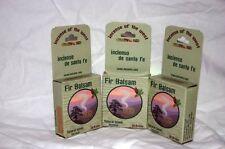 12 PACKS --20 Bricks each of Fir Balsam Incienso de Santa Fe Southwest Incense