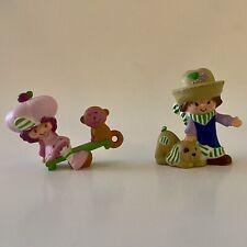 Raspberry Tart and Huckleberry Pie Strawberry Shortcake Miniatures Lot Of 2