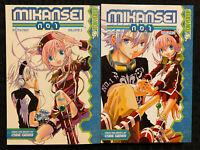 Mikansei No. 1 Vol 1, 2 Manga Tokyopop OOP English