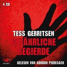 Hörbuch Gerritsen, T: Gefährliche Begierde/4 CDs von Tess Gerritsen