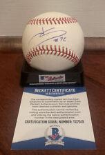Juan Soto Autographed Signed Official MLB Baseball Nationals Beckett COA
