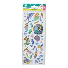 """CRAFT PLANET FUN FOILED STICKERS """" MERMAIDS """" FOR CARDS & CRAFT"""