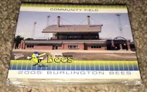 2005 MultiAd Burlington Bees Complete Card Set Kansas City Royals