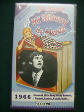 VIDEO RAI RARA VHS_CELENTANO-MINA-CASELLI-PRAVO-DALLA-NEW DADA-N.SINATRA_SEALED
