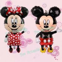 Giant Mickey Minnie Mouse Balloons Birthday Big Party Decor Supplies Foil New