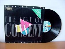 "BRONSKI BEAT ""The Age Of Consent"" Original PROMO LP from 1984 (MCA MCA-5538)."