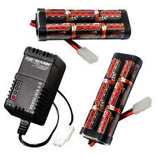 Overlander 2x 2000mah 7.2v NiMH Battery Pack & Charger for RC Car Tamiya Plug