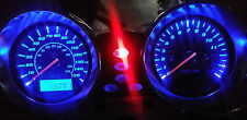 BLUE SUZUKI GSX1400 k1-k5 led dash clock conversion kit lightenUPgrade