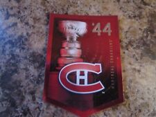 2012-13 Panini Molson Canadian Stanley Cup Collection 1944 MONTREAL CANADIENS