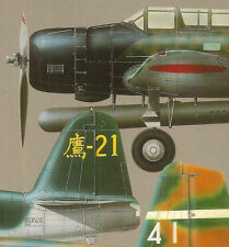 CAMOUFLAGE & MARKINGS JAPANESE NAVY BOMBERS IJN Vintage MODEL ART 406 Book