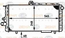 Radiator Heat Exchanger 8MK376720-121 / CR 620 000S by Behr - Single