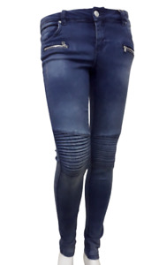 Be.you.Ti.ful skinny biker style jeans mid wash