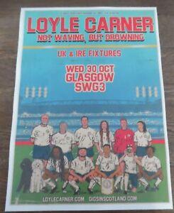 Loyle Carner - live music show Oct 2019 promotional tour concert gig poster