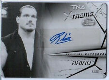 TNA Rhino 2010 Xtreme Authentic Autograph Black Printing Plate Card SN 1 of 1
