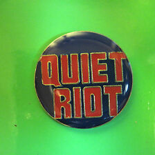 QUIET RIOT   - hat pin , tie tac , hatpin , lapel pin  GIFT BOXED