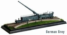 LEOPOLD K5 (E) GERMAN RAILWAY GUN 1:144 GRAY CAN.DO   K5 RAILWAY GUN